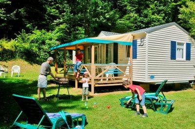 LE MOULIN DU ROCH-Hébergements haut de gamme du camping LE MOULIN DU ROCH-SAINT ANDRE D ALLAS
