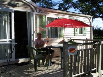 CAMPING DE VITTEL-Les mobil-homes du camping CAMPING DE VITTEL-VITTEL