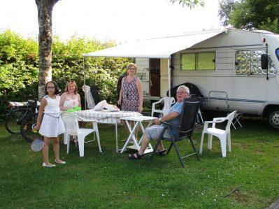 CAMPING DE VITTEL-Les emplacements du camping CAMPING DE VITTEL-VITTEL