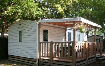 CAMPING DE LA PORTE D'ARROUX-Les mobil-homes du camping CAMPING DE LA PORTE D'ARROUX-AUTUN