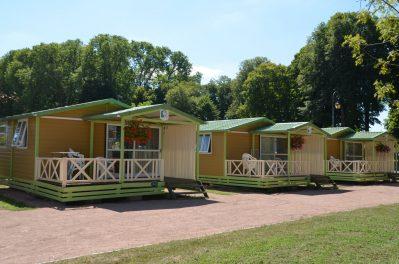 LES HALLES-Les chalets du camping LES HALLES-DECIZE