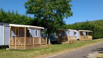 CAMPING DES SOURCES-Les mobil-homes du camping CAMPING DES SOURCES-SANTENAY