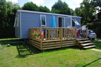 CAMPING DU BREUIL-Les mobil-homes du camping CAMPING DU BREUIL-BOURBON LANCY
