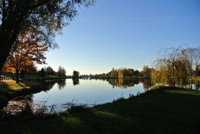 CAMPING DU BREUIL-Un camping en bord d'étang das Departement Saône-et-Loire-BOURBON LANCY