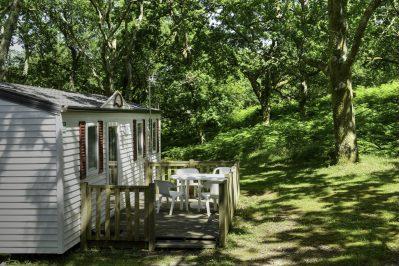 LE COL D'IBARDIN-Les mobil-homes du camping LE COL D'IBARDIN-URRUGNE