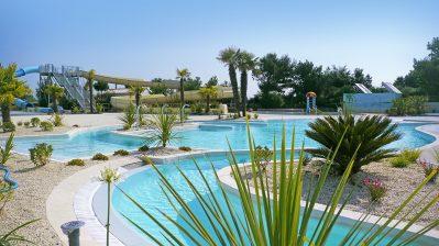 LES BLANCS CHENES-Le parc aquatique du camping LES BLANCS CHENES-TRANCHE SUR MER