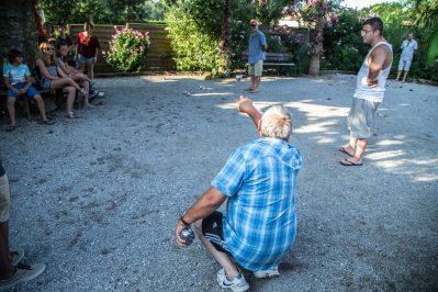 LES PLATANES-Le camping LES PLATANES, das Departement Landes-SAINT GEOURS DE MAREMNE