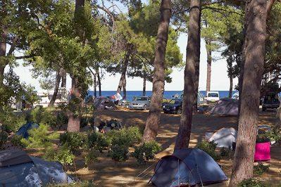 SAN DAMIANO-Le camping SAN DAMIANO, das Departement Haute Corse-BIGUGLIA
