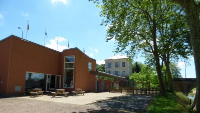 CAMPING DE NEVERS - La réception du camping CAMPING DE NEVERS - NEVERS