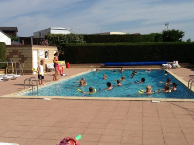 INTERNATIONAL CAMPING BELLE ETOILE - La piscine du camping INTERNATIONAL CAMPING BELLE ETOILE - GOUVILLE SUR MER