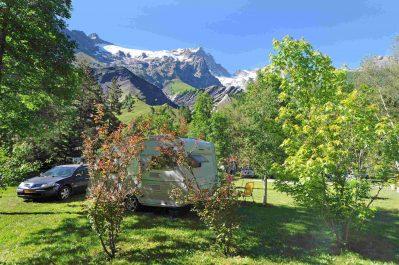 CAMPING DE MEIJE-Le camping CAMPING DE MEIJE, les Hautes-Alpes-GRAVE