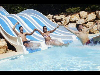 LA PAILLE BASSE-Les toboggans du camping LA PAILLE BASSE-SOUILLAC