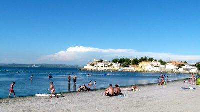 FELIX DE LA BASTIDE-La plage-SAINT MITRE LES REMPARTS
