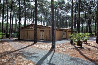 LE TEDEY-Un camping en pleine nature-LACANAU