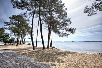 LE TEDEY-Un camping en bord de lac la Gironde-LACANAU