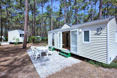 LE TEDEY-Les mobil-homes du camping LE TEDEY-LACANAU