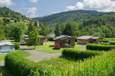LE TIVOLI-Les chalets du camping LE TIVOLI-BAGNOLS LES BAINS
