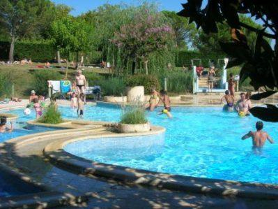 LE FAILLAL-La piscine du camping LE FAILLAL-MONTPEZAT DE QUERCY
