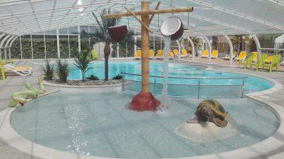 LE BOIS VERDON-Jeux aquatiques au camping LE BOIS VERDON, das Departement Vendée-SAINT JEAN DE MONTS