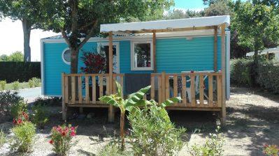 LE BOIS VERDON-Les mobil-homes du camping LE BOIS VERDON-SAINT JEAN DE MONTS