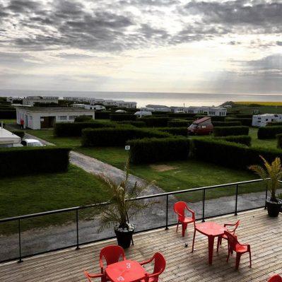 OMAHA-BEACH-Le camping OMAHA-BEACH, das Departement Calvados-VIERVILLE SUR MER