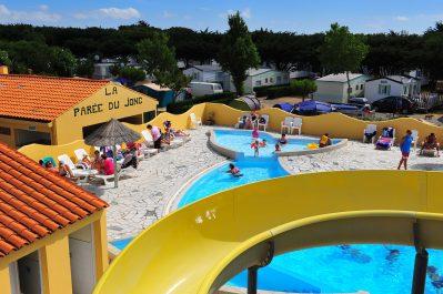LA PAREE DU JONC-La piscine du camping LA PAREE DU JONC-SAINT JEAN DE MONTS