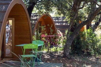 CAMPING DE LA PASCALINETTE-Les hébergements insolites du camping CAMPING DE LA PASCALINETTE-LONDE LES MAURES