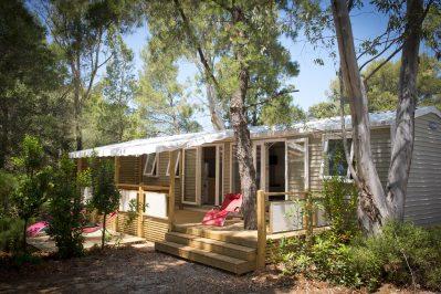 CAMPING DE LA PASCALINETTE-Hébergements haut de gamme du camping CAMPING DE LA PASCALINETTE-LONDE LES MAURES