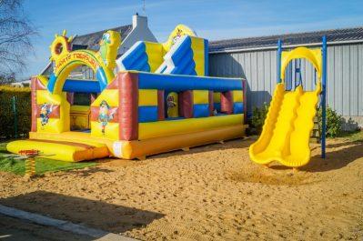 L'ILE VERTE-Espace jeux pour les enfants-SAINT BENOIT DES ONDES