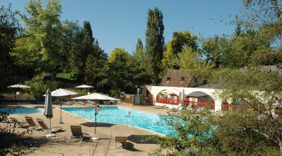 LES PIALADES-La piscine du camping LES PIALADES-NABIRAT