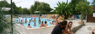 LA LENOTTE-La piscine du camping LA LENOTTE-MONPLAISANT