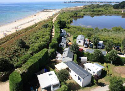 LA PLAGE-Un camping en bord de mer-TRINITE SUR MER