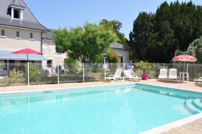 PUYNADAL-Le camping PUYNADAL, das Departement Dordogne-BRANTOME