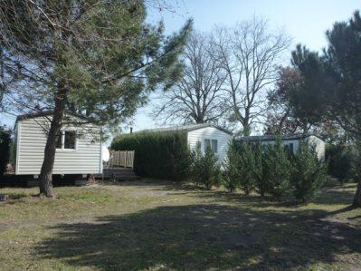 LES ECUREUILS-Les mobil-homes du camping LES ECUREUILS-HOURTIN