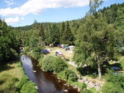 LE PONT DE BRAYE-Accès direct à la rivière en Lozère-CHASTANIER