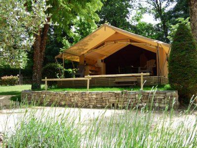 LE CLAPAS-Les hébergements insolites du camping LE CLAPAS-SALAVAS