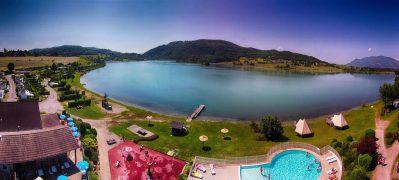 LAC DU LIT AU ROI-Un camping en bord de lac l'Ain-MASSIGNIEU DE RIVES