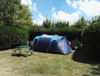 LES AURANDEIX-Les emplacements du camping LES AURANDEIX-TAUVES