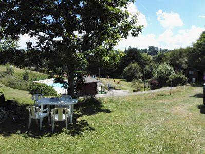 LES AURANDEIX-Un camping en pleine nature-TAUVES
