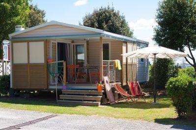 LES ECUREUILS-Les mobil-homes du camping LES ECUREUILS-BERNERIE EN RETZ