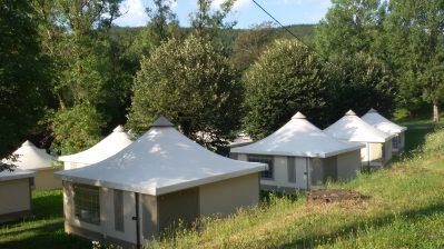 LA RAVIEGE-Le camping LA RAVIEGE, le Tarn-ANGLES