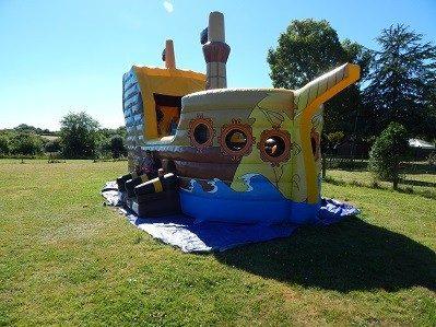 CLOS MER ET NATURE-Espace jeux pour les enfants-SAINT MICHEL CHEF CHEF
