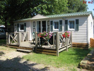 AU PAYS DE HANAU-Les mobil-homes du camping AU PAYS DE HANAU-DOSSENHEIM SUR ZINSEL