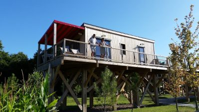 DOMAINE DE KERVALLON-Un camping en pleine nature-CARO