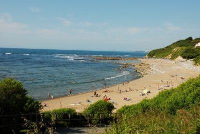 ATLANTICA-Accès direct à la plage pour le camping ATLANTICA-SAINT JEAN DE LUZ