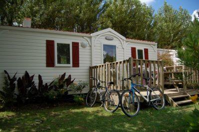 ATLANTICA-Les mobil-homes du camping ATLANTICA-SAINT JEAN DE LUZ