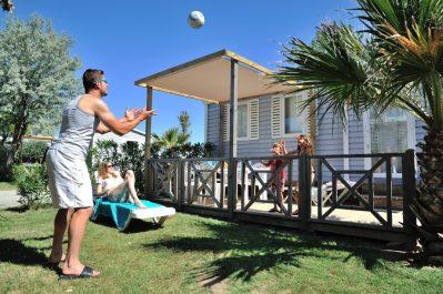 VILLAGE CAMPING SPA MARISOL-Accès direct à la plage pour le camping VILLAGE CAMPING SPA MARISOL-TORREILLES