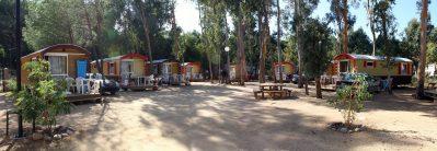 LA PINEDE-Les hébergements insolites du camping LA PINEDE-CALVI