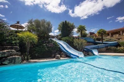 DOMAINE DE FROMENGAL-Jeux aquatiques au camping DOMAINE DE FROMENGAL, das Departement Dordogne-BUISSON DE CADOUIN