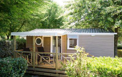 DOMAINE DE FROMENGAL-Les mobil-homes du camping DOMAINE DE FROMENGAL-BUISSON DE CADOUIN